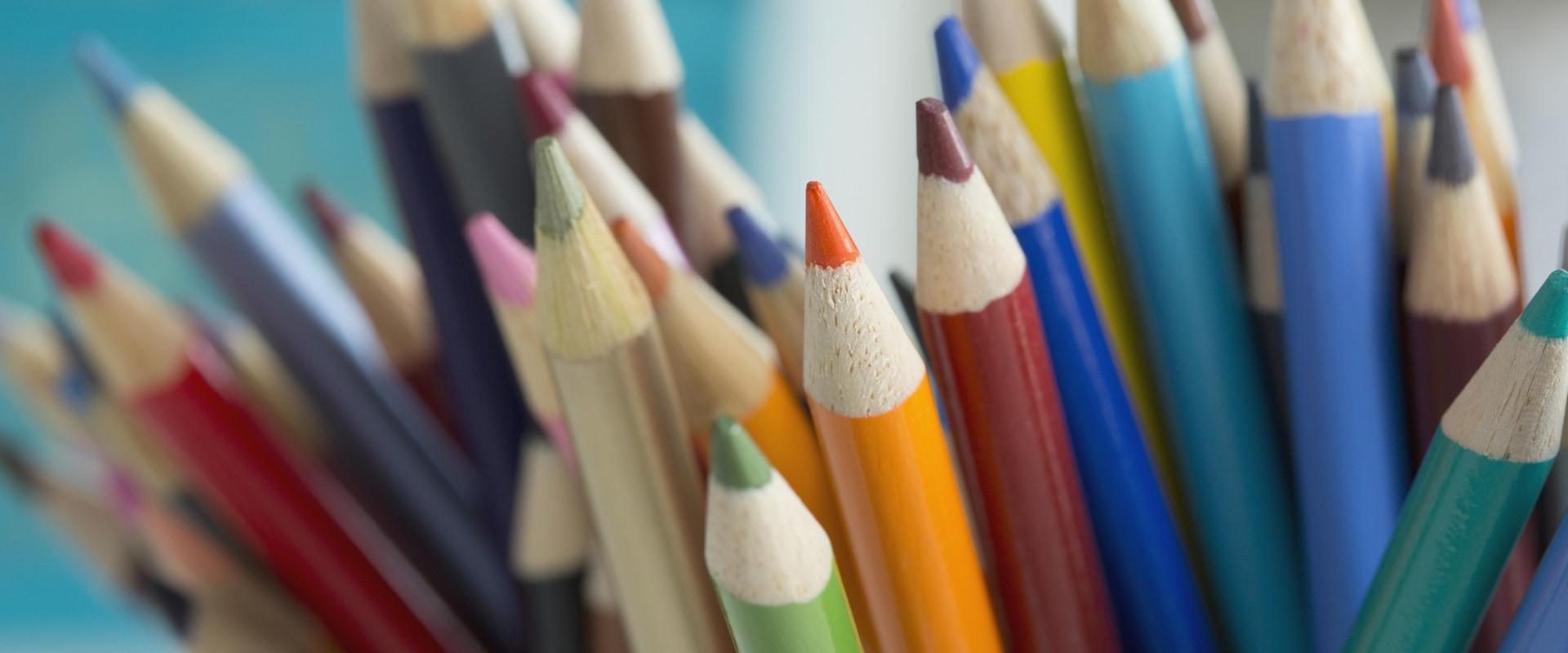 Image of colored pencils.